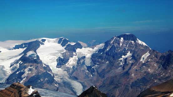 Mt. Andromeda and Mt. Athabasca