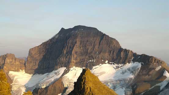 Mt. Saskatchewan, my previous objective