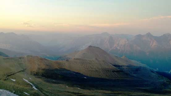 Big Bend Peak in foreground