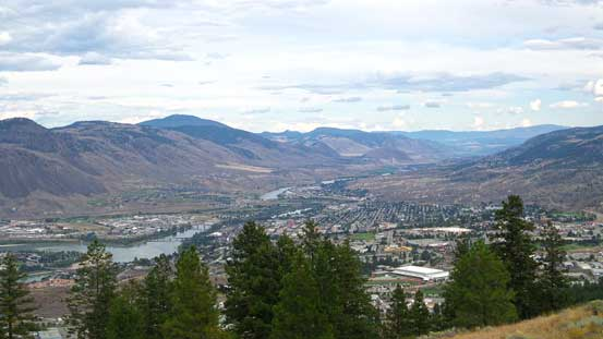 The city of Kamloops