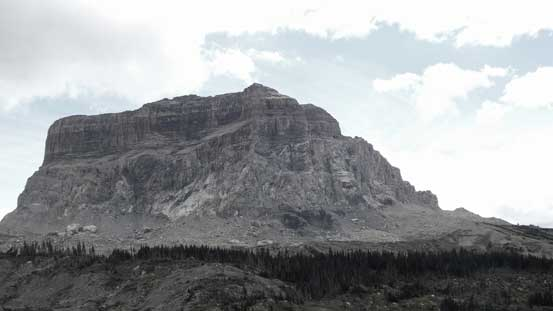 The impressive N. Face of Chief Mountain