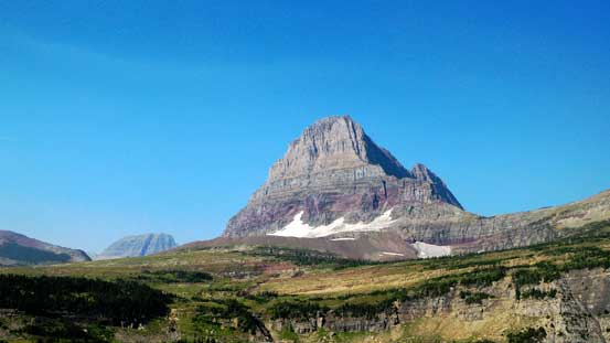 This striking peak is Clements Mountain