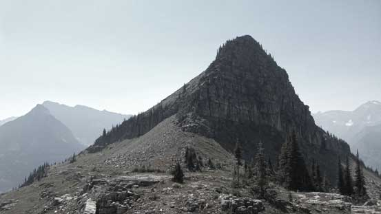The Butte ahead