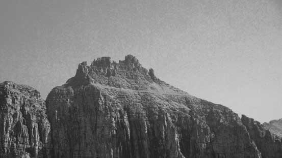 The summit nipple of Bishop's Cap