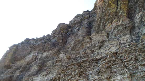 Here's that Class 3/4 difficult scrambling section