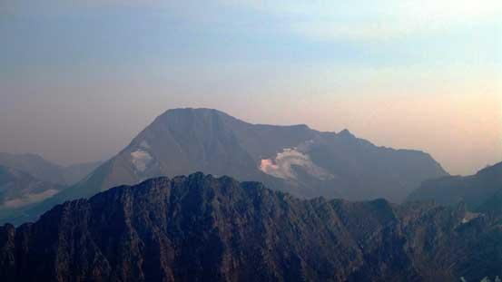 The massive bulk of Mt. Jackson