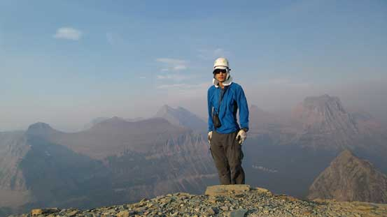 Me on the summit of Reynolds Mountain