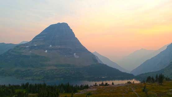 Bearhat Mountain at dusk