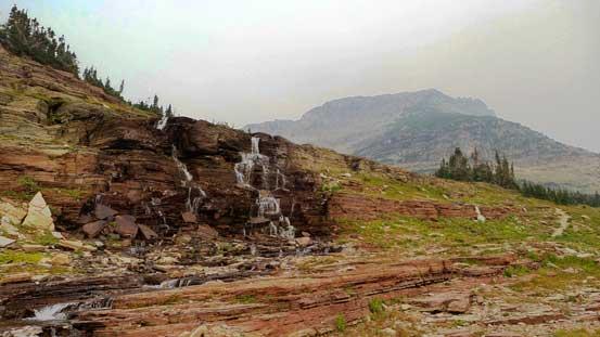 A set of waterfalls