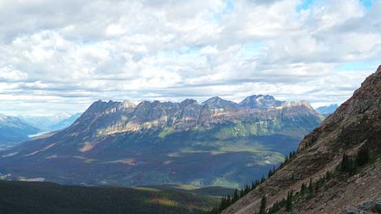 A view of Yellowhead Mountain - another icon along Highway 16