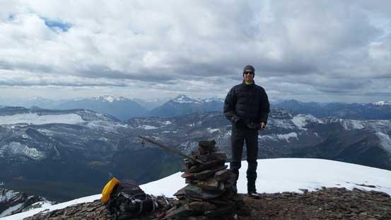 Maury on the summit