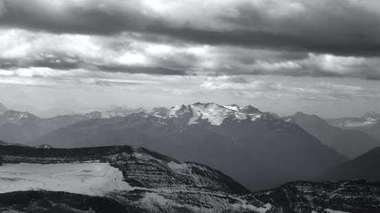 Kuraluk Peak a very obscured one in Selwyn Range