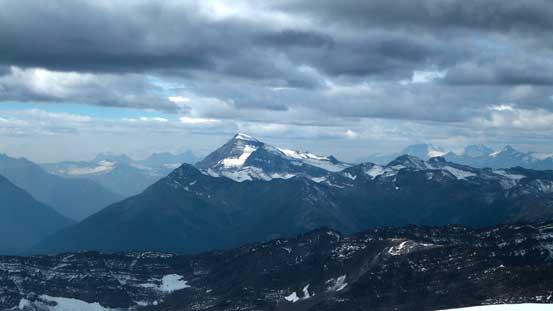 Jeanette Peak is the highest in Selwyn Range