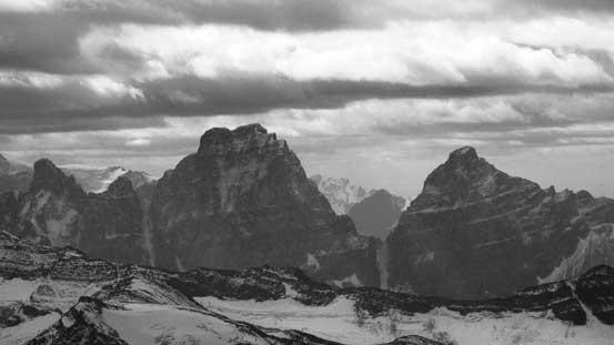 Mt. Geikie and Barbican Peak