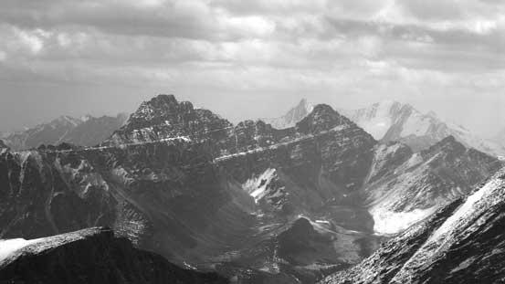 Basillica Mountain and Curia Mountain