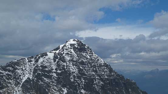 The summit of Mt. Fitzwilliam