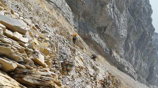 The terrain gets steeper