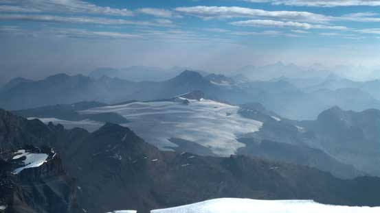 The Reef Icefield - rarely seen