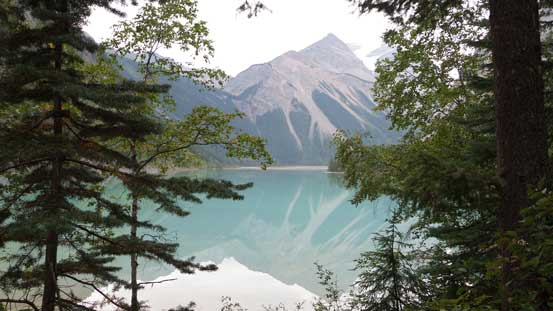 And finally, made to Kinney Lake..