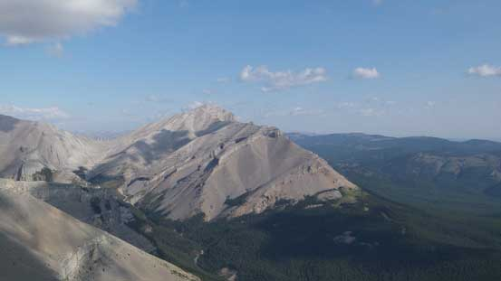 Another view of Bluerock Mountain