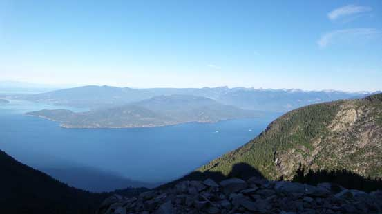 View down towards Howe Sound. It's been a long time since I saw the Ocean
