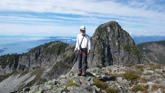 Me on the summit of East Lion