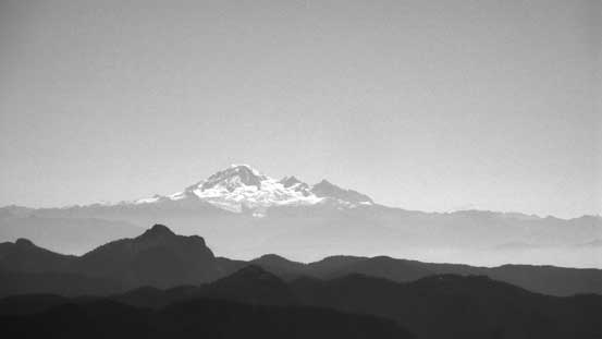 The massive Mt. Baker