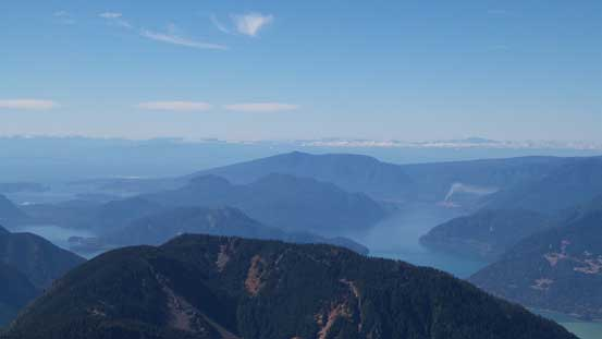 Islands by Howe Sound