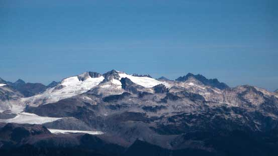Parapet Peak and Isosceles Peak