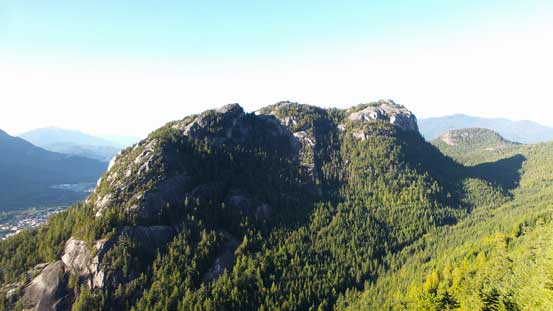 Good view of Stawamus Chief's backside