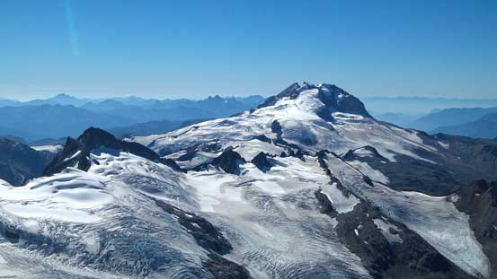 Looking over Sphinx Glacier towards Mt. Garibaldi