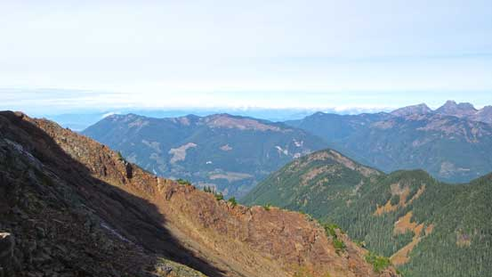 Started to see the popular Elk-Thurston-Mercer ridge traverse