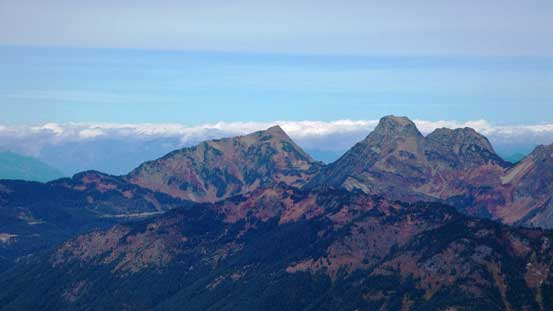 Cheam Peak and Lady Peak