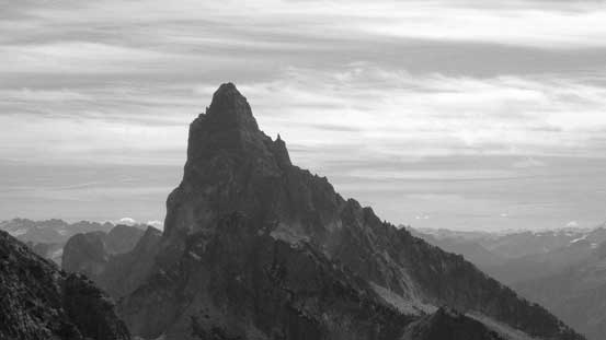 The super imposing Slesse Mountain - high on the list...