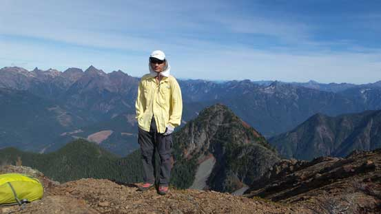 Me on the summit of Mt. MacFarlane