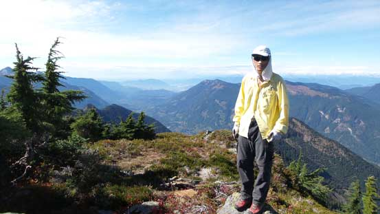 Me on the summit of Mt. Pierce
