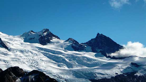 Colfax Peak and Lincoln Peak and Coleman Glacier