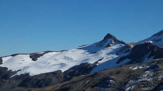 Hadley Peak and Hadley Glacier