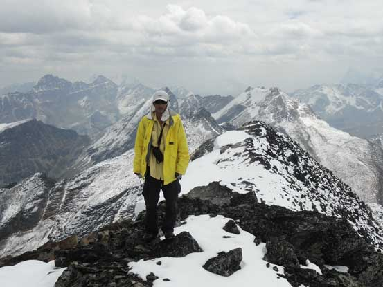 Me on the summit of Bucephalus Peak