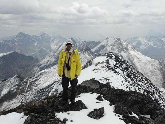 Me on the summit of Bucephalus Peak