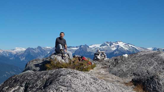 Vlad on the summit