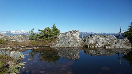 The same tarn