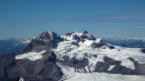 Mt. Garibaldi is a giant no matter where you look at it from