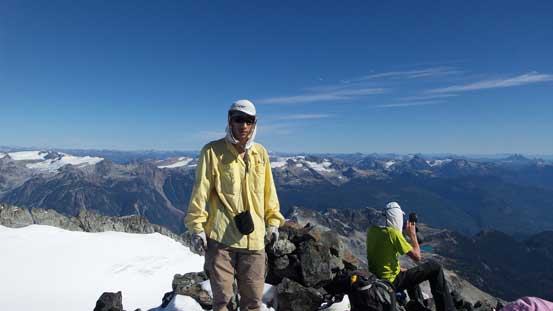 Me on the summit of Mamquam Mountain