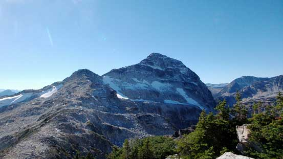 Looking back at the N. Face of Mt. Taillefer. Does it look like The Eiger?!
