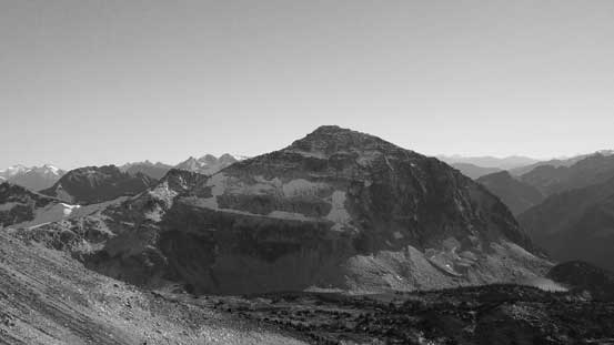 The N. Face of Mt. Taillefer