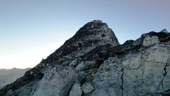 The upper E. Ridge