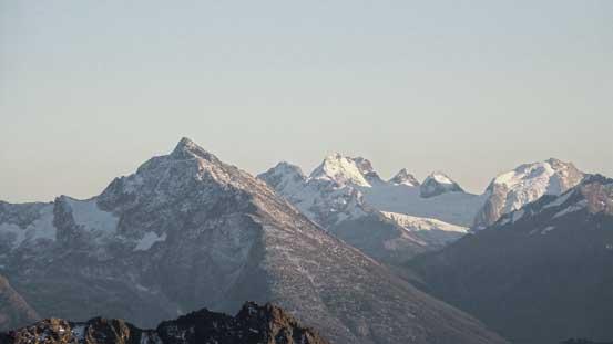 Mt. Merriott with Mt. Matier behind
