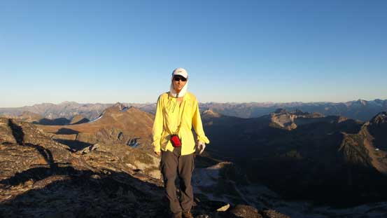 Me on the summit of Mt. Taillefer
