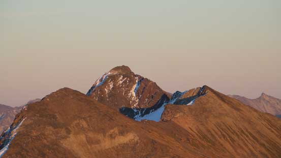 A closer look at Prospector Peaks
